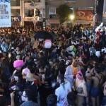 【画像】 大阪のアメ村はハロウィン仮装で大混雑!!仮装暴走族・道頓堀飛び込み・乱交