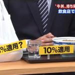 【軽減税率】 店で食べると消費税10%、持ち帰りは8%に ??????