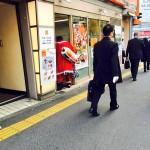 """【新宿南口】 左足壊死ニキ """"吉野家入店 """"━(゚∀゚)━!"""