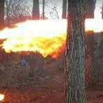 【動画有り】 ドローンに火炎放射器 七面鳥焼いたアメリカの少年がネットで炎上
