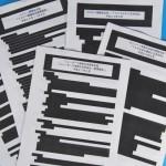 【ヤバイw】 自民党が開示したTPP交渉文書が真っ黒、一部が黒いんじゃなくて本当に真っ黒www