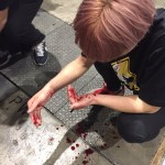 ニコニコ超会議で揉め事。流血騒ぎ
