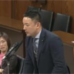 山本太郎が国会でパチンコ廃止を提唱