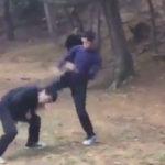 沖縄の中二がいじめの動画を撮影しTwitterに投稿される