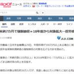 【朗報】日本年金機構「すまん、7ヶ月以上年金滞納したら差し押さえて強制徴収するわ」