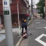 【池袋】警察官の乱暴な対応動画が話題