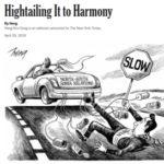 ニューヨークタイムズの風刺画が安倍首相を馬鹿にしすぎと話題に。日本では辛辣すぎて報道できないレベル