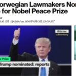【国際】トランプ大統領、2019年のノーベル平和賞にノミネート