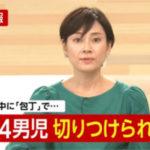 静岡・藤枝市の小学校に刃物男 小4男児が重傷 男を現行犯逮捕