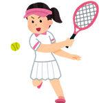【画像】テニス部JKさん、試合中に汗でユニフォームが透けて下着が丸見えにwwwwwwww
