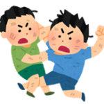 【悲報】海外のチー牛、反則技で喧嘩を仲裁